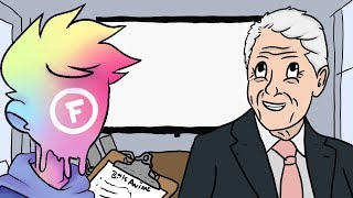 BILL CLINTON DESIGNS HIS DREAM ANIME