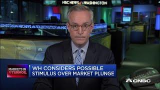 White House Considers Stimulus Measures After Coronavirus Driven Market Drop