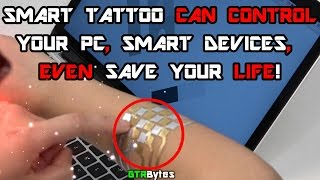 DuoSkin Smart Tattoo Can Control Your PC and Smart Devices