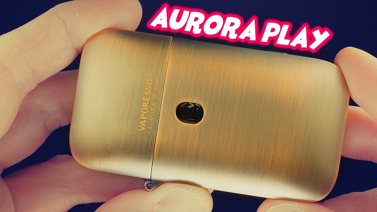 The Aurora Play Vape Pod System By Vaporesso!