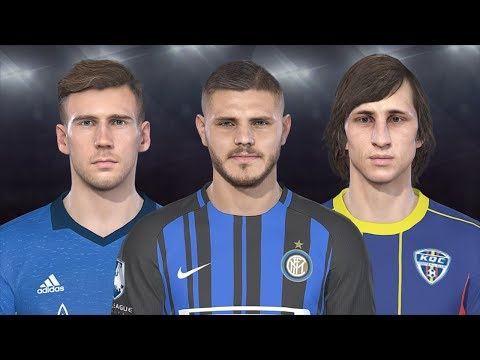 PES 2018 Data Pack 30  All New and Updated Faces + DOWNLOAD LEGENDS