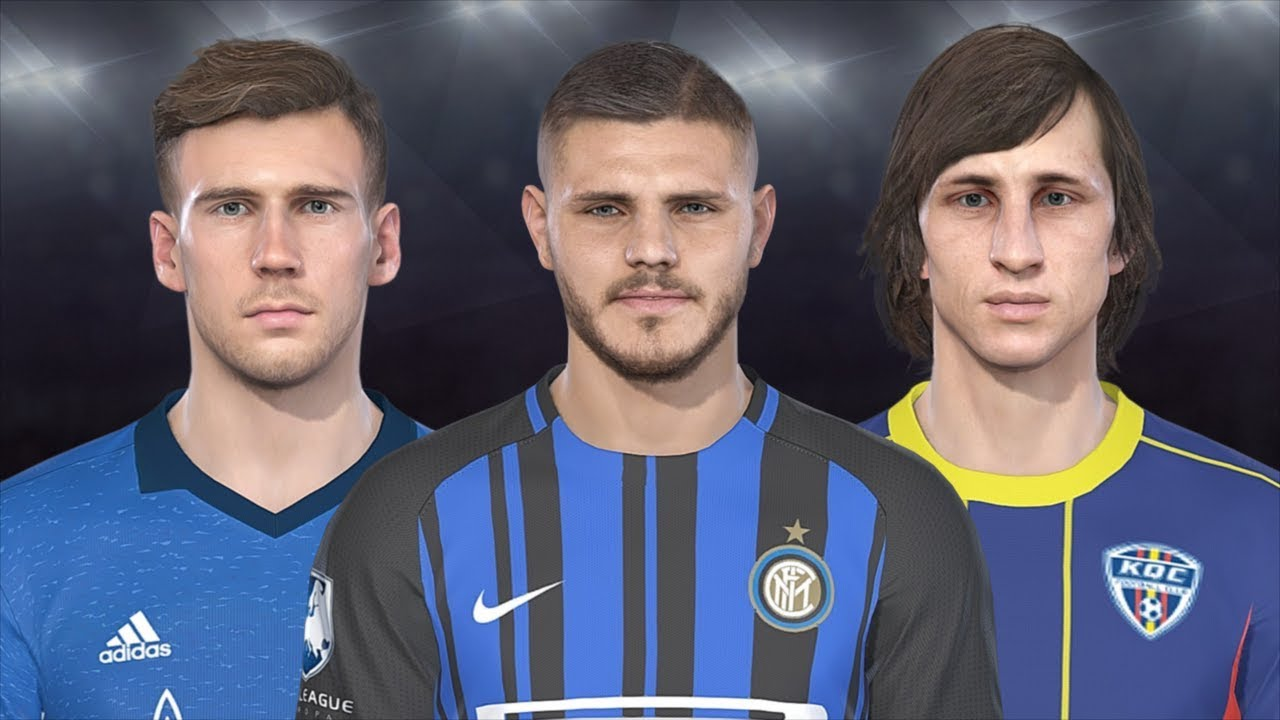 PES 2018 Data Pack 3.0 | All New and Updated Faces (+ DOWNLOAD LEGENDS)