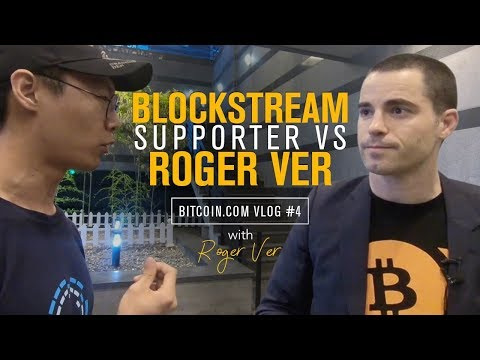 Bitcoin Debate: Roger Shuts Down Blockstream supporter in Korea   Roger Ver Vlog 4
