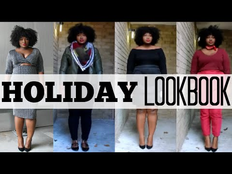 2015 HOLIDAY PARTY OUTFIT LOOKBOOK I PLUS SIZE FASHION I NYE I ...