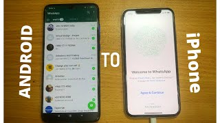 Whatsapp Chats Transfer From Android To iPhone Using Same Number [Giveaway 200$]
