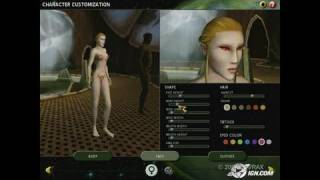 The Saga of Ryzom PC Games Gameplay - Character creation,