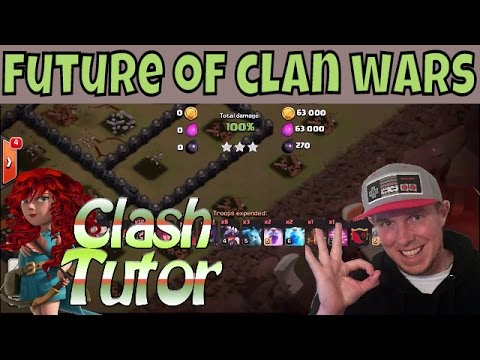 Clash Of Clans | THE FUTURE OF CLAN WARS W/ CLASH TUTOR