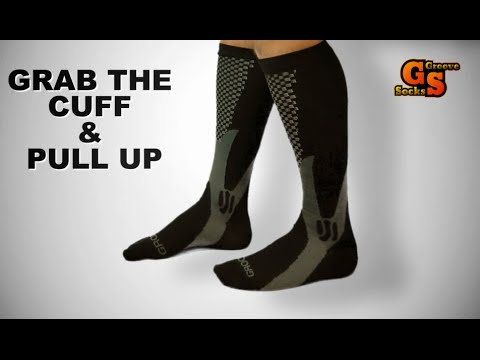 84b9cbfd63 How To Put On Compression Socks Easily Step-By-Step - YouTube