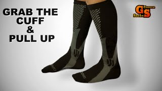 How To Put On Compression Socks Easily Step-By-Step