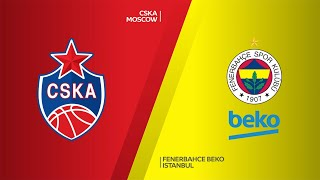 CSKA Moscow - Fenerbahce Beko Istanbul Highlights | Turkish Airlines EuroLeague, RS Round 21