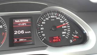 Audi A6 3,2 fsi 200-278 km/h