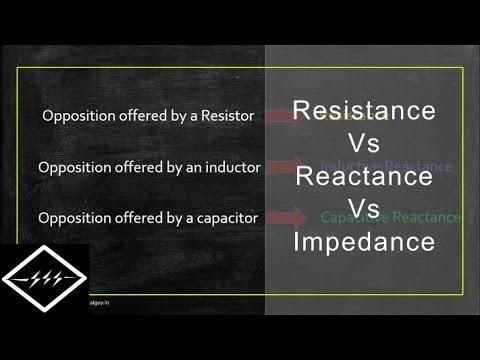 Resistance Vs Reactance Vs Impedance | Explained | TheElectricalGuy