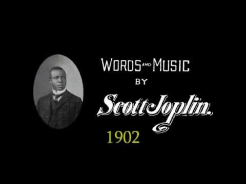 Rare Scott Joplin song: The Rag Time Dance