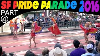 SF Pride Parade 2016, Part 4 of 4: Hour-long 242-clip compilation/excerpts