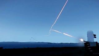 ファランクス トマホーク 巡航ミサイルを撃墜の瞬間 シウス CIWS Phalanx cruise missile BGM-109 Tomahawk
