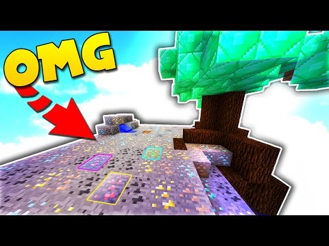 NEW MINING WORLD in MINECRAFT SKYBOUNDS!