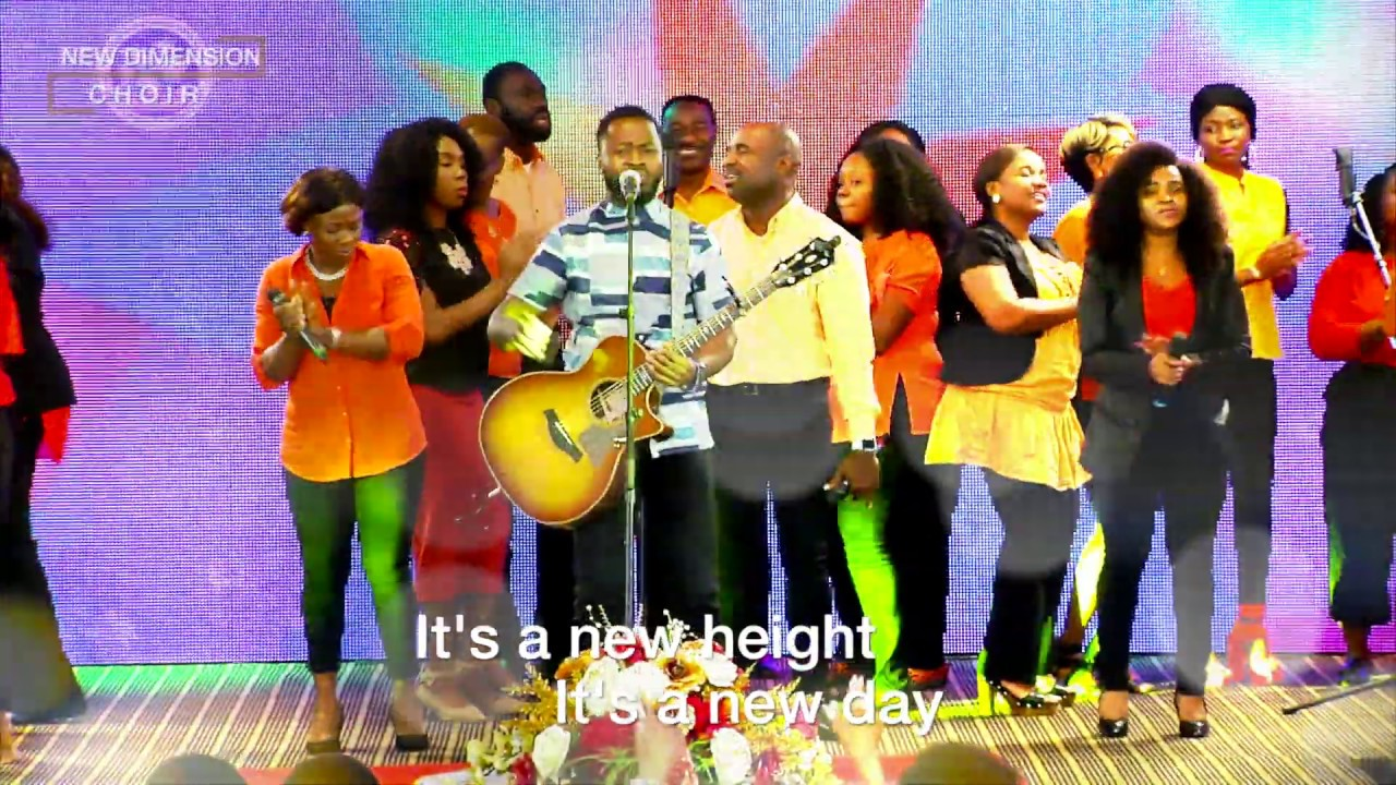 """NEW HEIGHT"" Performed by ALCC New Dimension Choir; Written & Composed by Victor Olayeni"