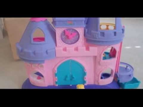fisher-price-little-people-princess-songs-palace-with-cinderella-and-friends