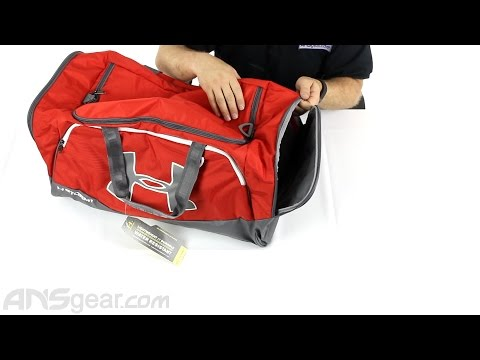 97bb3f6964c Under Armour Storm Undeniable II Large Duffle Bag - Review - YouTube