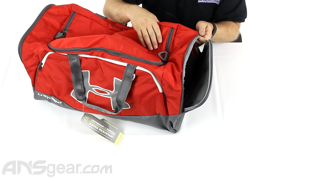 a7bf8f5c159a Under Armour Storm Undeniable II Large Duffle Bag - Review - YouTube