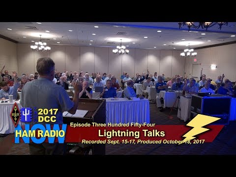 HRN 354: Lightning Talks from the 2017 DCC on Ham Radio Now