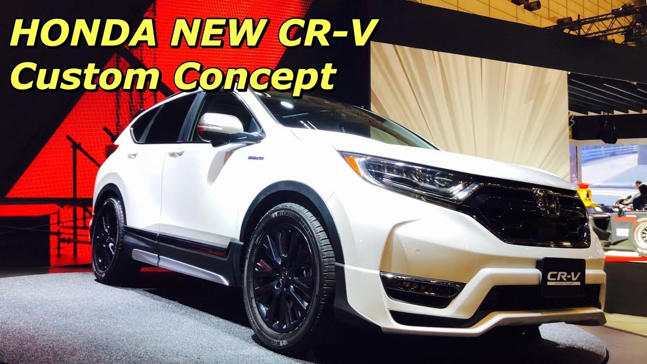 New Honda Suv >> ホンダ 新型 CR-V カスタム コンセプト 実車見てきたよ☆迫力あるSUVに仕上がった!HONDA NEW CR-V Custom Concept 東京オートサロン2018 - YouTube