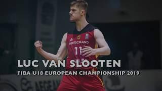 Luc van Slooten: FIBA U18 Europe 2019 Highlights