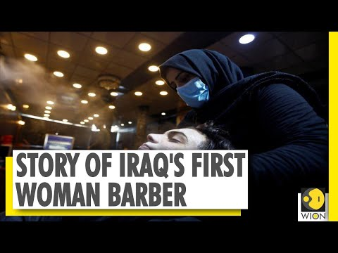 Iraq's first woman to cut men's hair | 32-year-old fights patriarchy in Iraq | WION