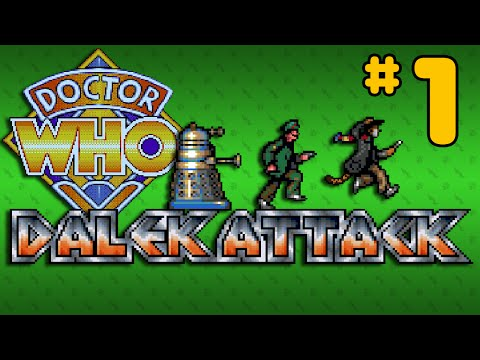 Dalek Attack (Amiga) - Part 1: Giant Tiger Snakes - Octotiggy