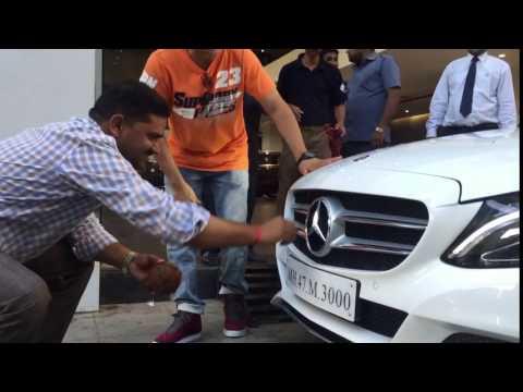 Sudesh lehri's new mercedes car