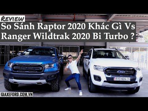 13 Điểm Khác Biệt Giữa Ford Raptor 2020 Với Ranger Wildtrak Bi 2020 4x4 | Bui Quang Dung Ford
