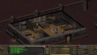 Fallout 1 playthrough; Silent