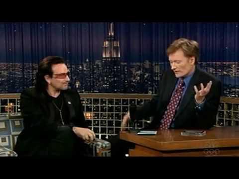 Bono (U2) Explains American vs. Irish Mentality (2005 @ Conan O'Brien)