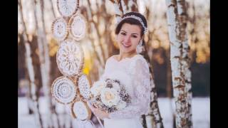 Winter wedding story - backstage video