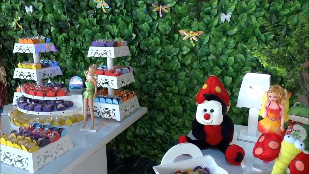 Jardim Encantado  Decoração provençal com muro inglês para festa