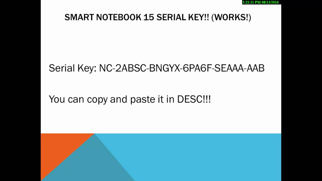 smart notebook 11 serial keygen