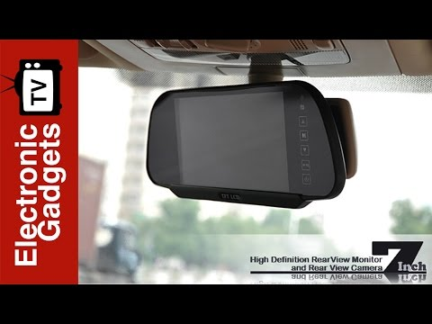 7 inch high definition rear view monitor rear view camera 7 inch high definition rear view monitor rear view camera