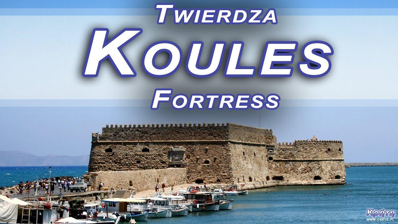 Crete  Kreta - Twierdza Koules w Heraklionie  Koules ...