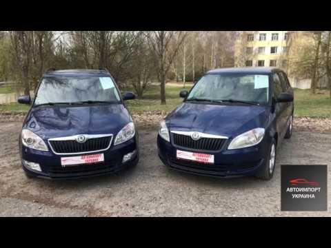 Skoda Fabia 1.6tdi   77kw  Обзор авто из Германии  Автоимпорт