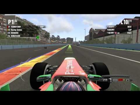 F1 2011 Coop Season Europe Race Part 2