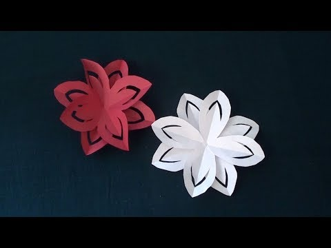 Layered Paper Flowers for Kids | Easy DIY Paper Arts and Crafts