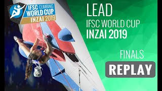 IFSC Climbing World Cup Inzai 2019 - Lead Finals