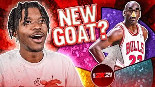 Spin The Wheel To Create A New GOAT in NBA 2K21