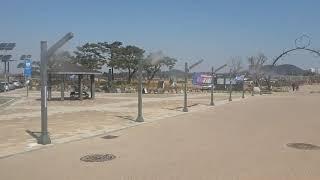 [안개핀조경] 경기도 시흥시 갯골생태공원 쿨링포그 시공…