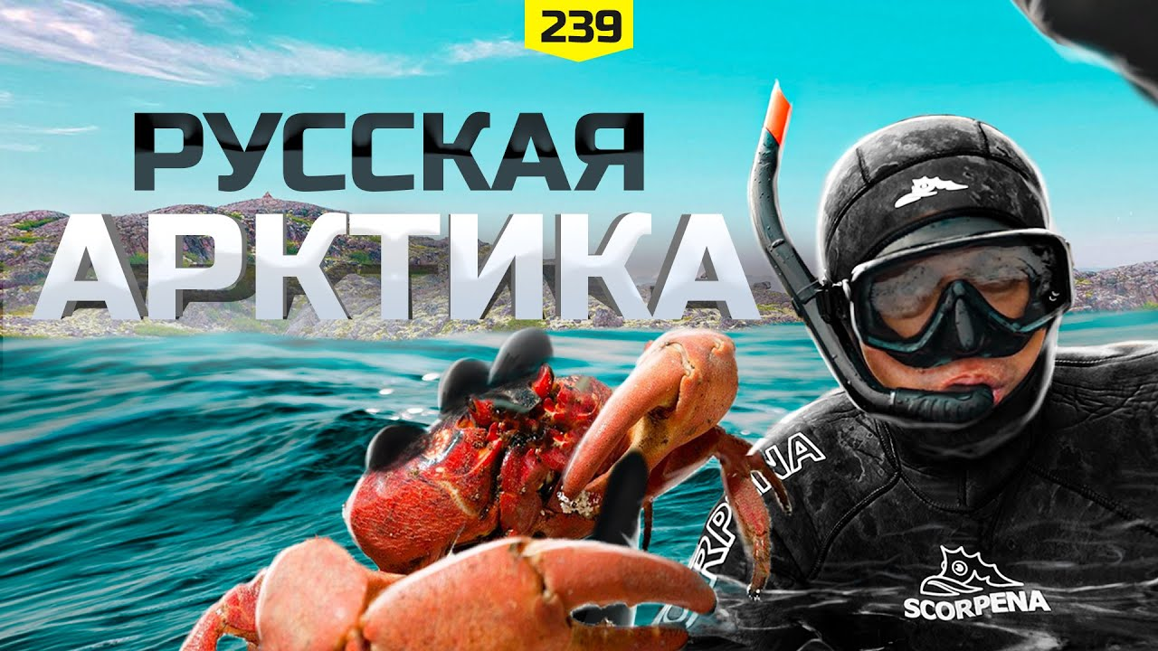 Русская Арктика. Путешествие за Полярный круг. Особенности подводной рыбалки