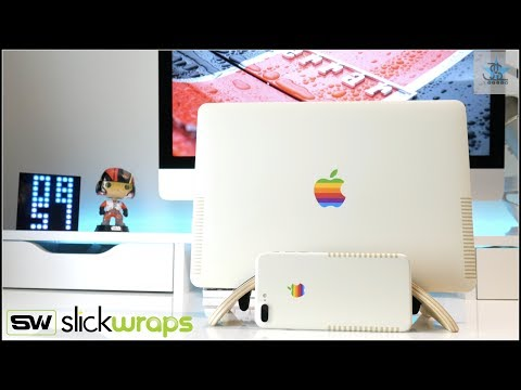 THE RETRO MACBOOK AIR - How to get that vintage Apple look!!