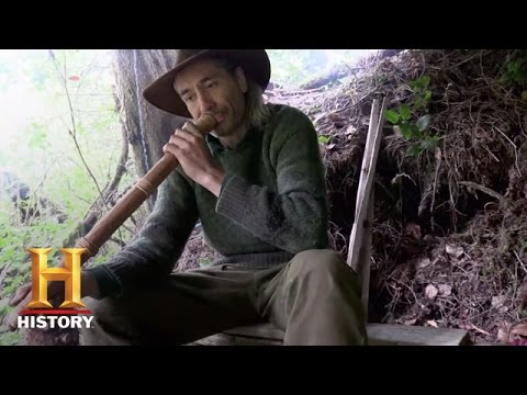 Alone: Survival Tip - Making a Fire Blower (S2) | Thursdays 9/8c | History