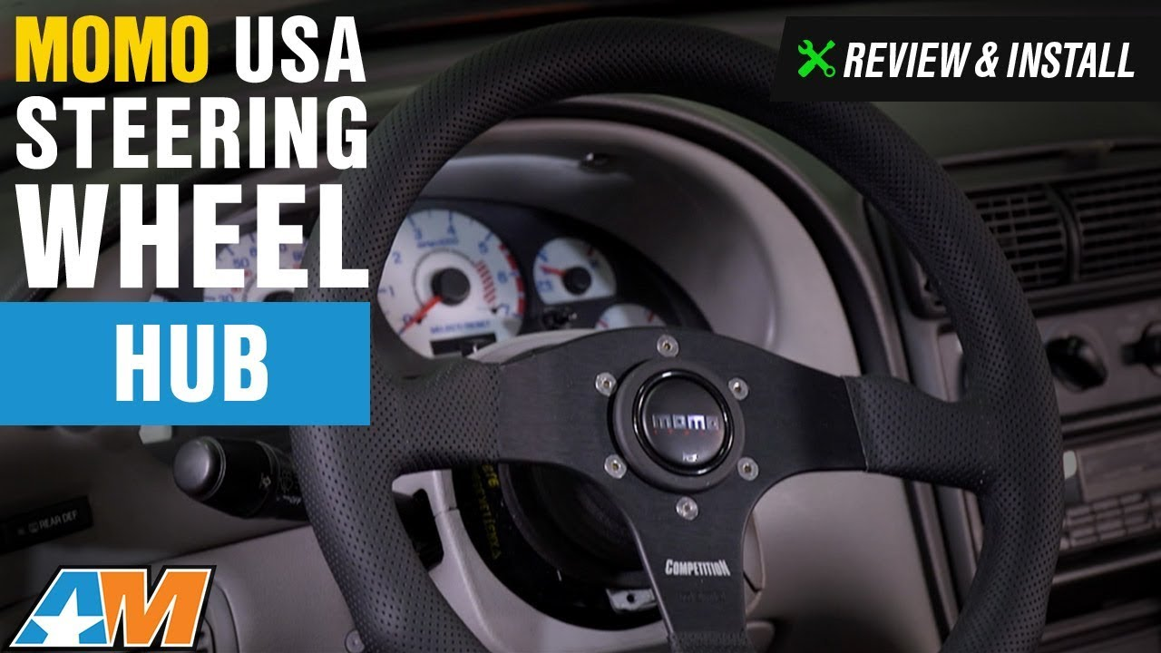 1984 2004 Mustang Momo Usa Steering Wheel Hub Review Install