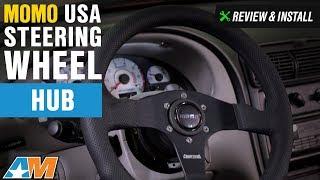 1984-2004 Mustang MOMO USA Steering Wheel Hub Review & Install