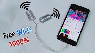 Free Wi-Fi Internet Unlimited 1000% Work || Get Free internet at home || New Best ideas